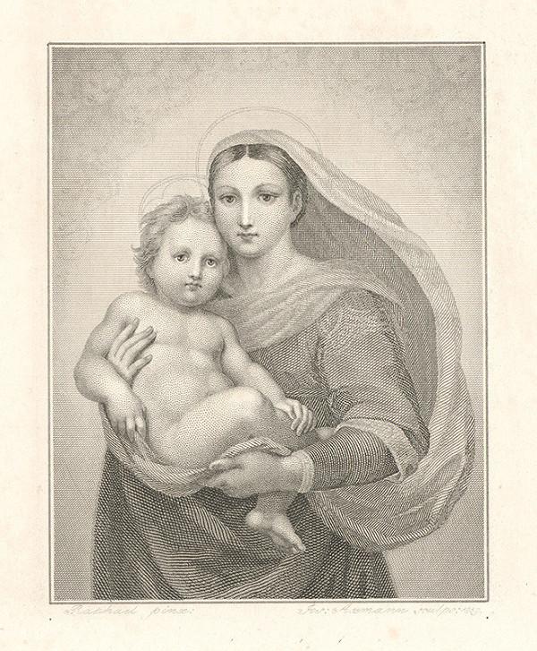 Raffael, Josef Axmann – Sixtínska Madona