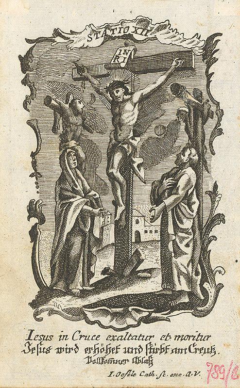 Franz Ignaz Oefele – Ježiš na kríži zomiera