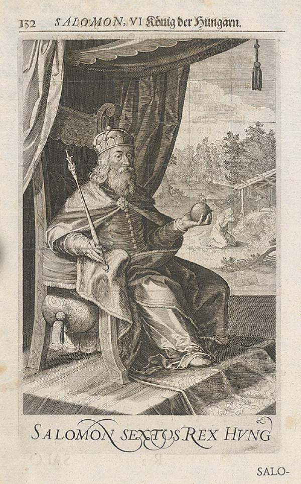 Stredoeurópsky grafik zo 17. storočia – Salamon, VI. König der Hungarn