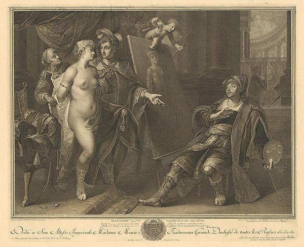 Johann Gotthard von Müller, Govaert Flinck – Alexander Veľký