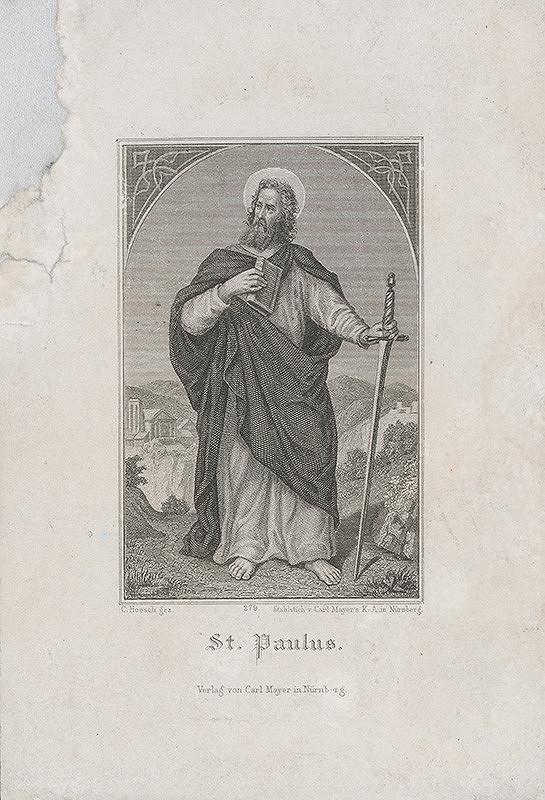 Carl Mayer, Friedrich Karl Hosch - Svätý Pavol