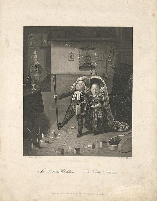 Albert Henry Payne, Johann Peter Hasenclever - Pastorove deti