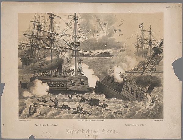 Vincenz Katzler – Námorná bitka pri Nisse