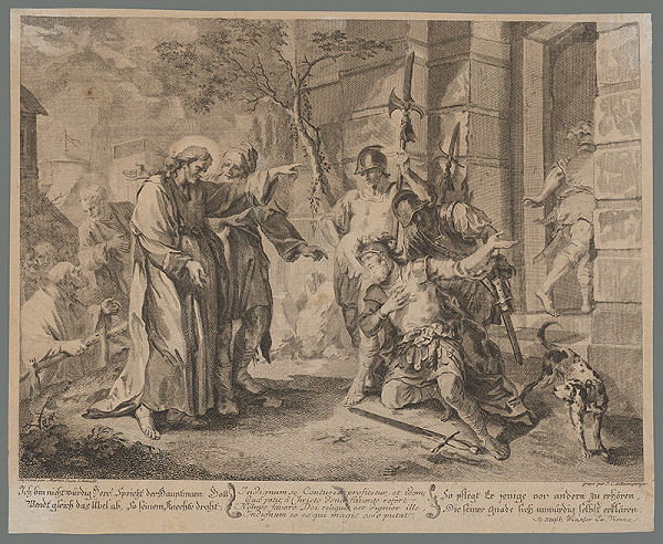 Johann Christoph Reinsperger, Johann Martin Schmidt – Poníženie centúria pred Ježišom