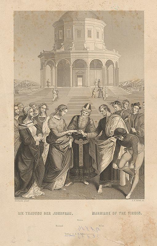 Albert Henry Payne, Raffael – Zasnúbenie Panny Márie