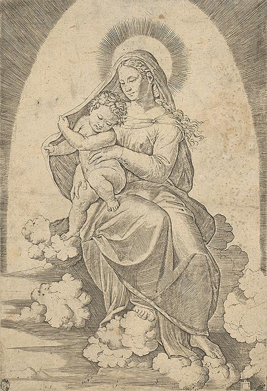 Stredoeurópsky grafik zo 16. storočia – Madona