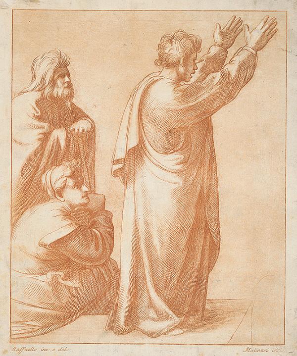 Stefano Mulinari, Raffael – Svätý Pavol káže v Aténach