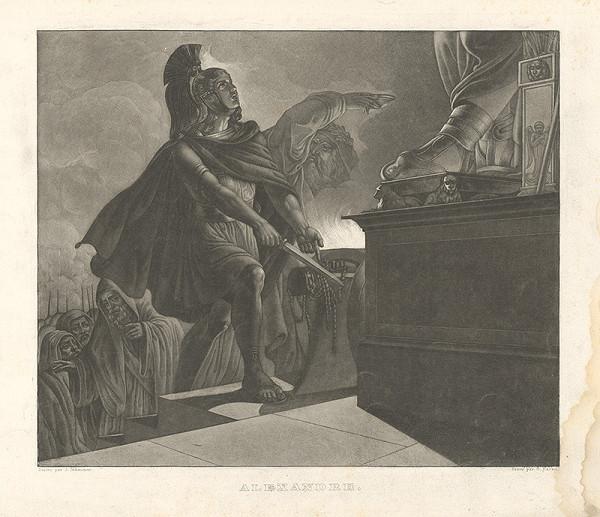 Gabriel von Hackl, Joseph Schmutzer – Alexander