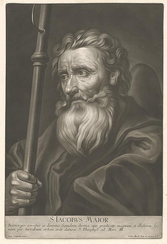 Johann Jacob Haid, Ján Kupecký – Svätý Jakub starší