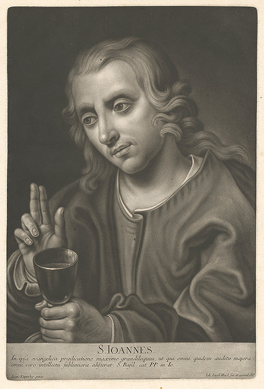 Johann Jacob Haid, Ján Kupecký – Svätý Ján
