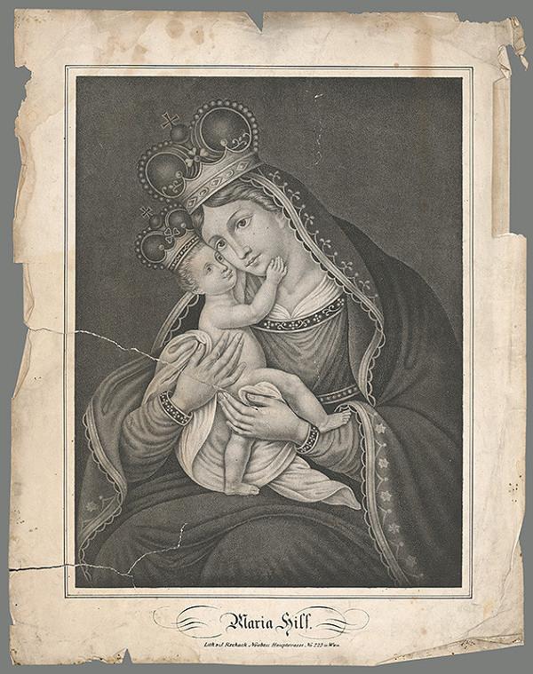 Stredoeurópsky maliar z 19. storočia - Mária Pomocnica