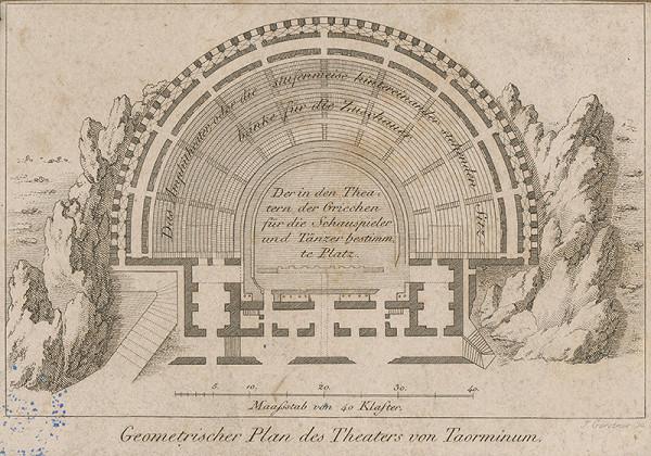 Joseph Gerstner – Plán divadla v Taormine