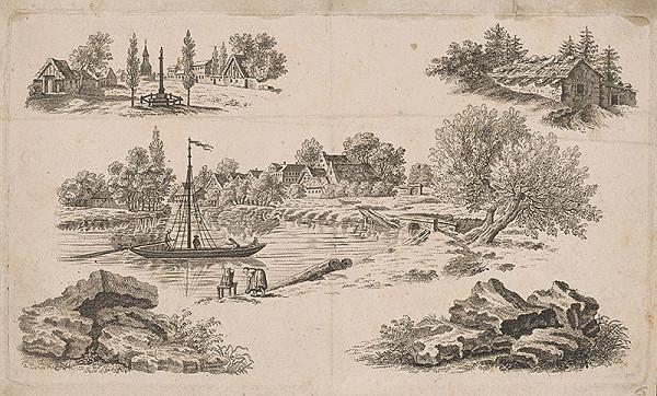 Stredoeurópsky maliar z 19. storočia – Krajinky