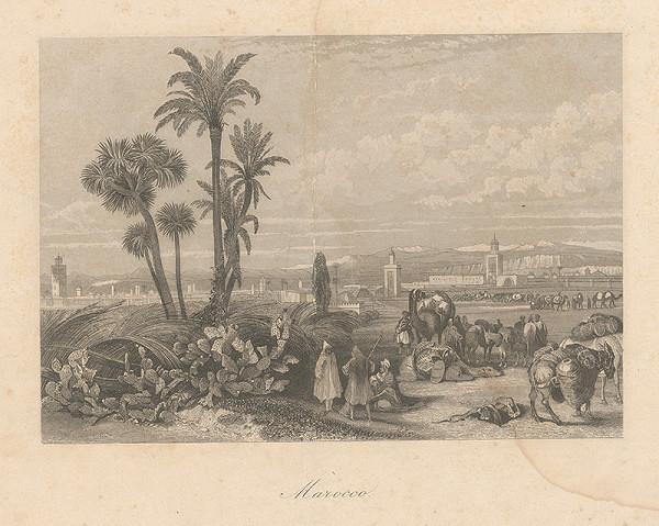 Stredoeurópsky maliar z 19. storočia – Maroko