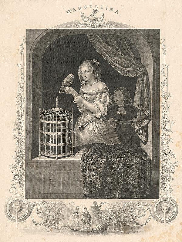 Albert Henry Payne, Constantin Netscher - Marcellina