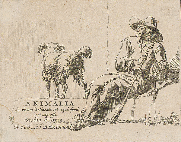 Nicolaes Claes Berchem st. – Titulná strana knihy