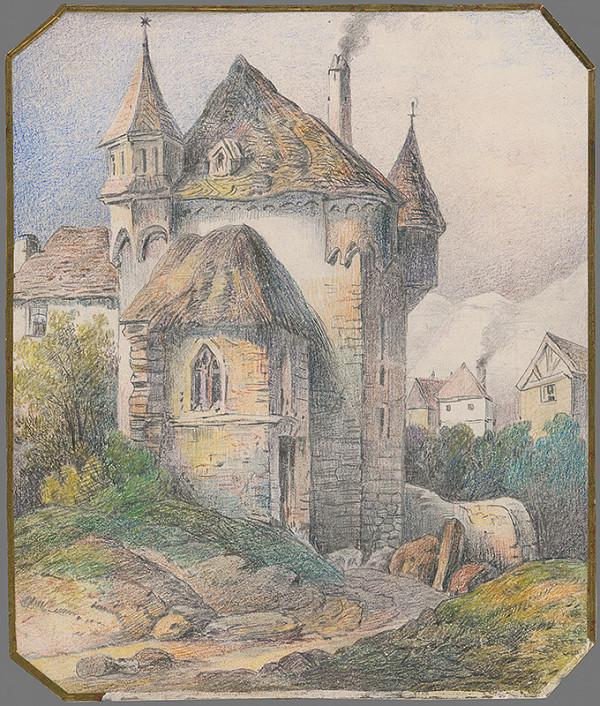 Stredoeurópsky grafik z 19. storočia - Vstupná brána