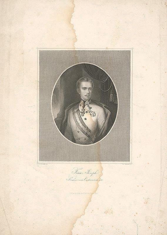 Josef Axmann, Richard Schwager - Portrét cisára Františka Jozefa I.