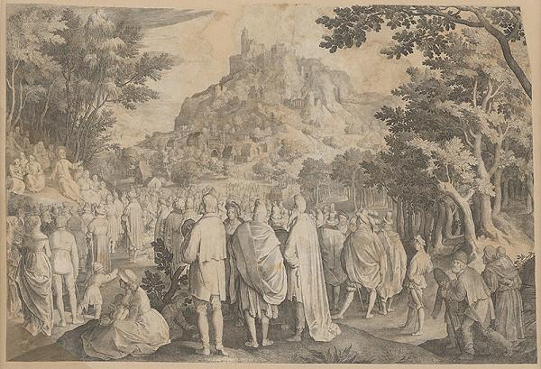 Stredoeurópsky grafik zo 16. storočia, Pieter Brueghel st. - Kázeň Jána Krstiteľa