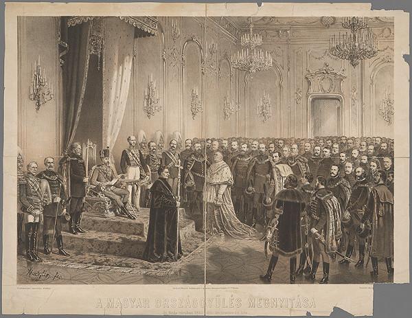 Vincenz Katzler – Uhorský snem r.1865
