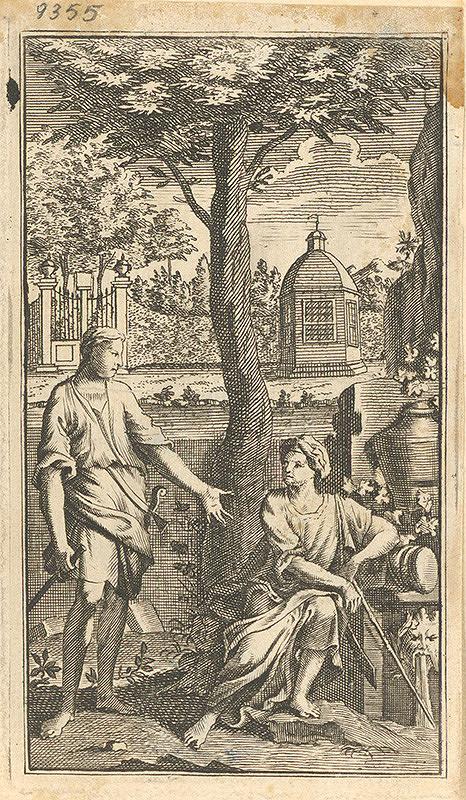 Stredoeurópsky grafik z 18. storočia – Pri studni