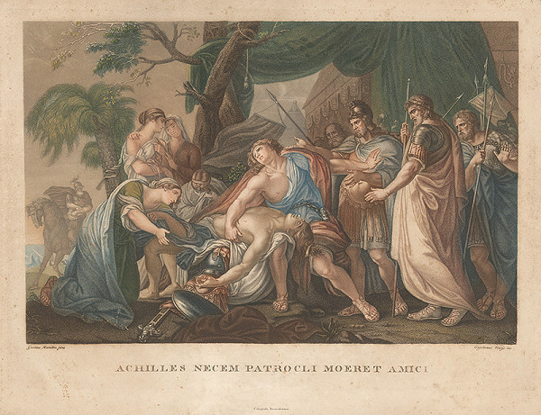 Gavin Hamilton, Gaetano Venzo – Výjav zo života Achillesa II.