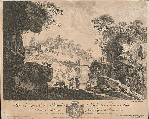 Ferdinand Landerer, Jean Baptiste Pillement – Krajina