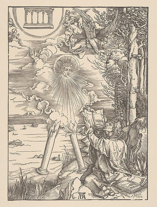 Albrecht Dürer – Sv. Ján hltá knihu