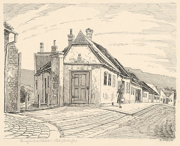 Karol Frech – Vinohradnícky dom v Bratislave