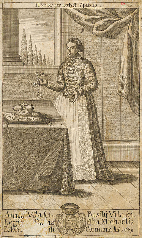 Stredoeurópsky grafik zo 17. storočia – Anna Vilaki