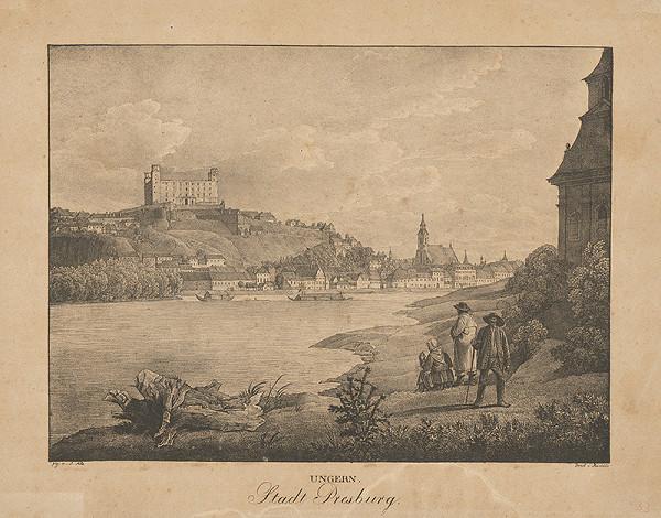 Jakob Alt – Bratislava z juhozápadu