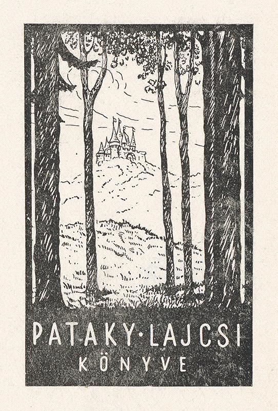 Stredoeurópsky grafik z 20. storočia - Ex libris Pataky Lajcsi