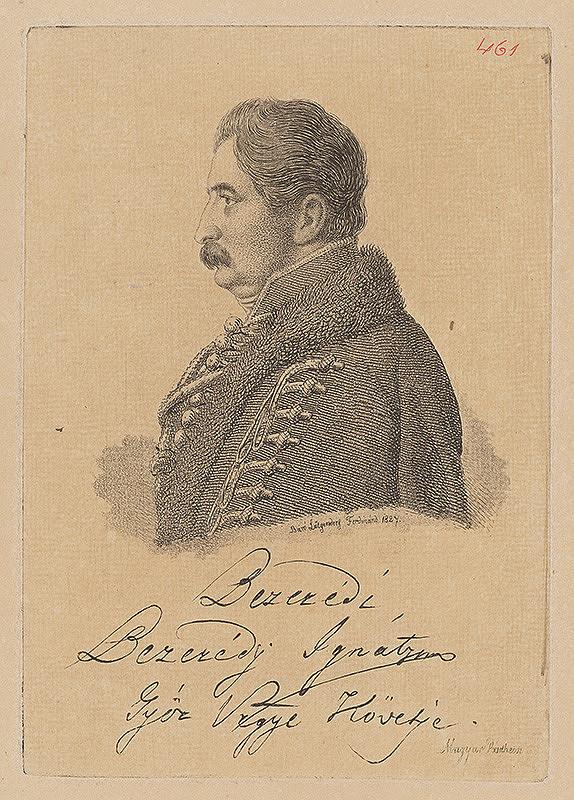 Ferdinand Karl Theodor Lütgendorff – Portrét Ignáca Berszédyho