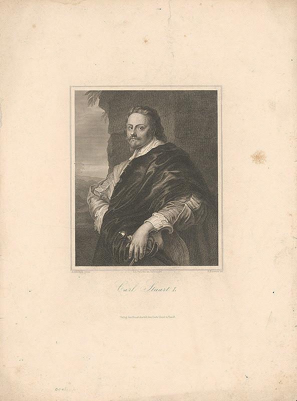 Georg Pommer, Anthony van Dyck - Portrét Karola Stuarta I.