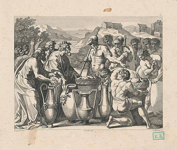 Konrád Wiesner, Raffael, Wilhelm Kandler – Hostina u kráľa Dávida