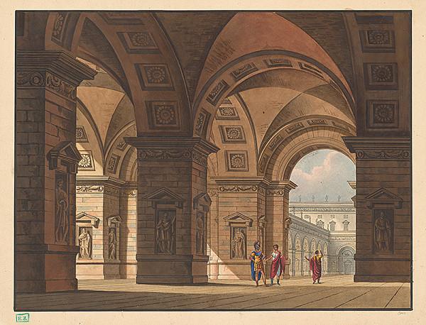 Otto – Návrh na antikizujúcu scénu z antickej drámy