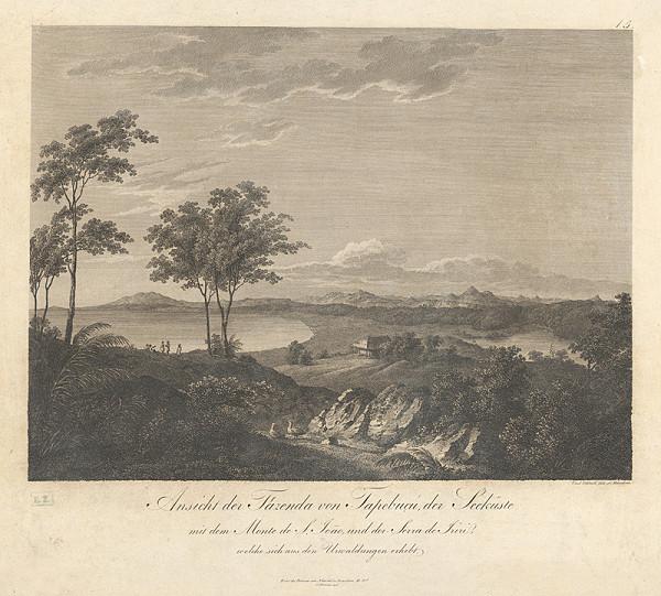 Carl Schleich ml. – Pohľad na jazero pri hore Monte de S. Joao