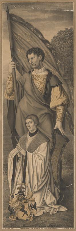 Johann Nepomuk Strixner, B. de Bruyn – Modliace sa knieža