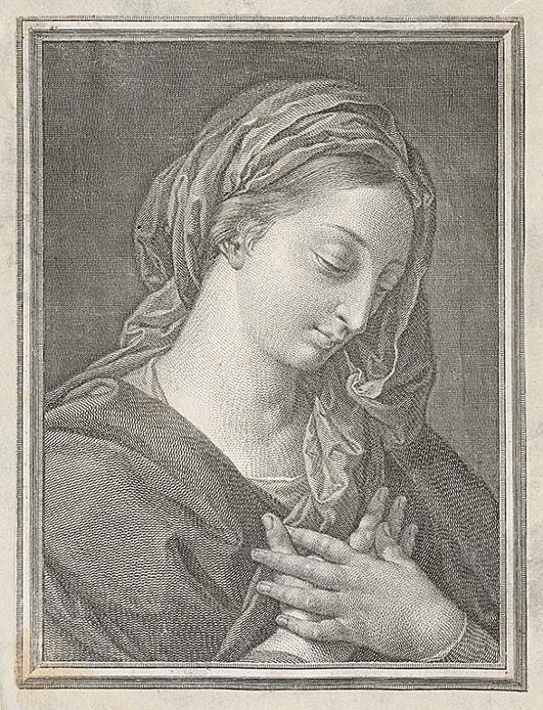 Taliansky grafik, Raffael – Madona