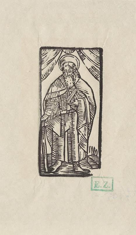Provinčný grafik preberajúci ikonografický program, Erhard Schön, Hans Springinklee - Svätý Matej apoštol