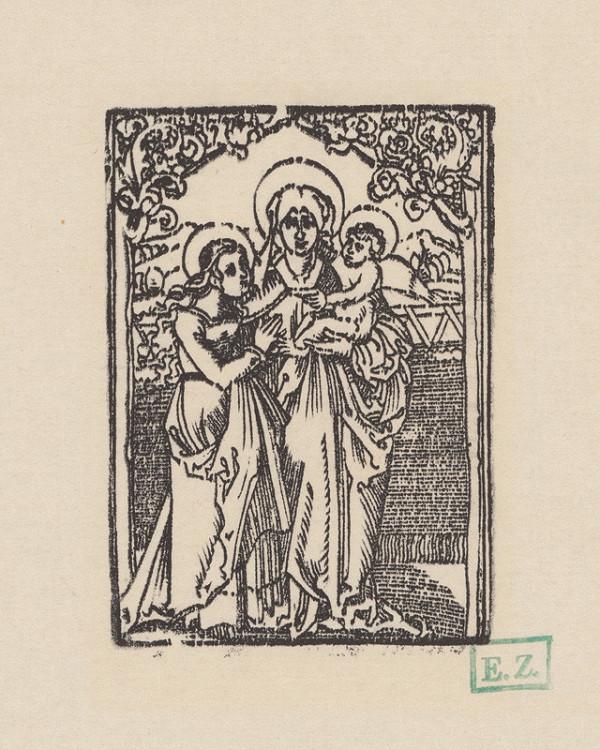 Erhard Schön – Svätá Anna Samotretia