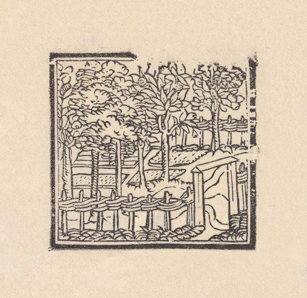Grafik, Hans Leonhard Schäufelein – Záhrada