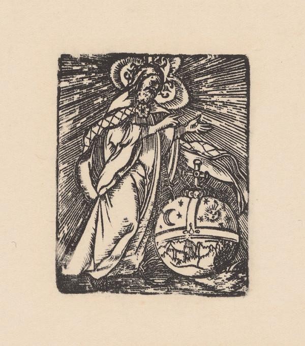 Kopista, Hans Leonhard Schäufelein, Monogramista IS s lopatkou - Stvorenie sveta