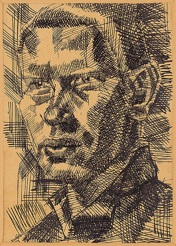 Ernest Zmeták – Autoportrét