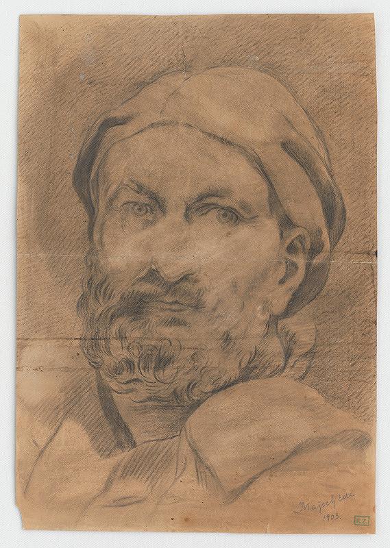 Eduard Majsch – Portrét starého muža