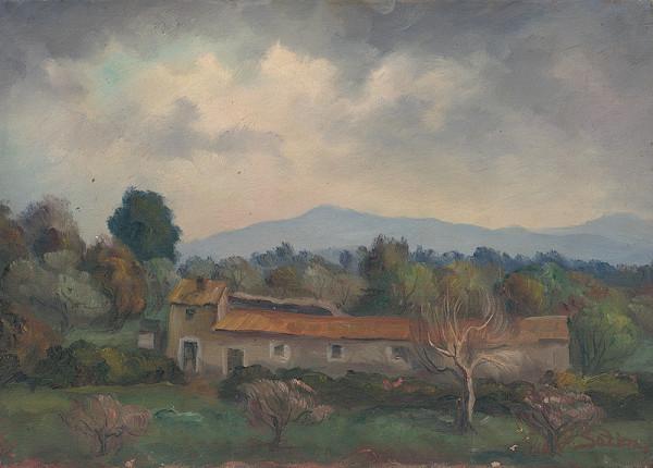 Jozef Satin – Talianska krajina