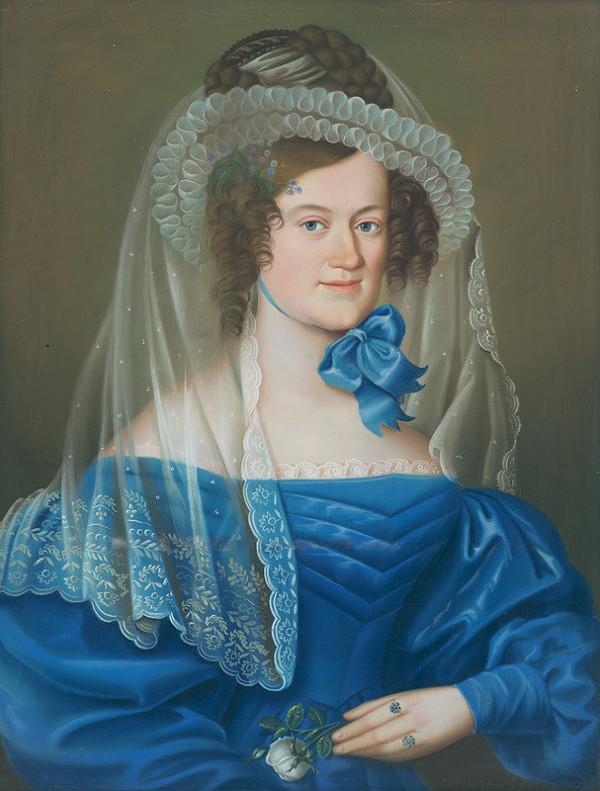 Károly Wieland – Portrét Babetty von Wieland