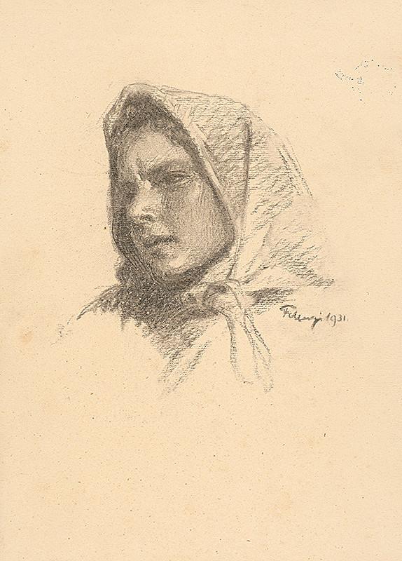 Alojz Fellegi – Dievča v šatke