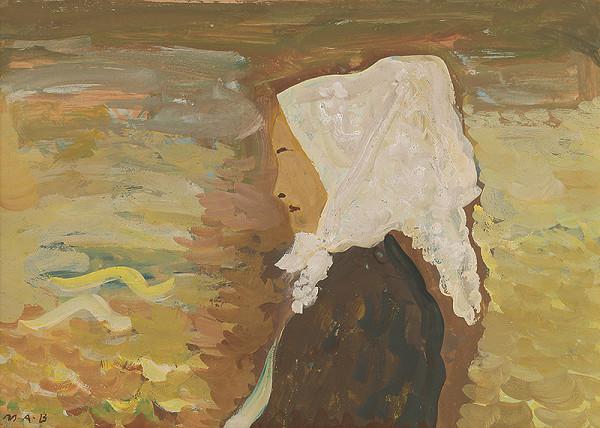 Miloš Alexander Bazovský – Žena v bielej šatke
