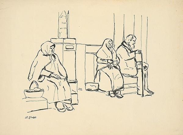 Štefan Fodor – Odpočinok starých
